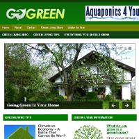 Green Living PLR Blog